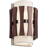 Wooden wall light Cirus