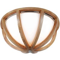 Harmoniously designed wooden ceiling lamp Allier