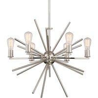 Six bulb chandelier Carnegie
