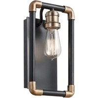 Technical looking wall light Imahn