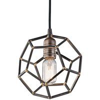 Rocklyn   one bulb hanging lamp