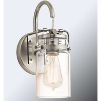 Vintage look wall light Brinley