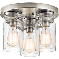 Ceiling lamp Brinley three bulb