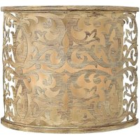 Champagne coloured wall light Carabel