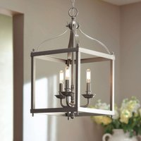 Three bulb pendant light Larkin in nickel