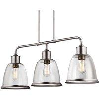 Three bulb pendant lamp Hobson