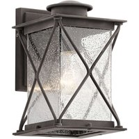 Argyle   Small outdoor wall light  rural style