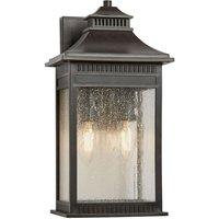 Livingston medium   robust outdoor wall lamp