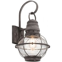 Large Bridge Point wall lantern for outdoors