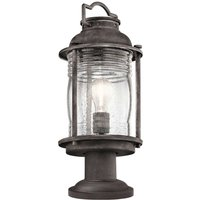Rustic Ashland Bay pillar light