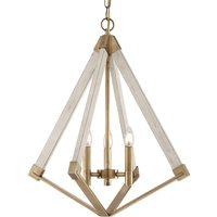 View Point chandelier with a diamond form    49 cm