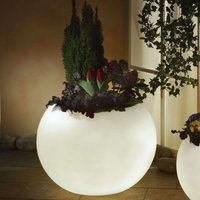 Illuminated planter  highest quality  white 65