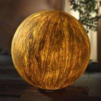 Sahara Globe 40 cm with Stainless Steel Base