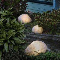 Stone Lamps with Rubber Connection  Granite 40 cm