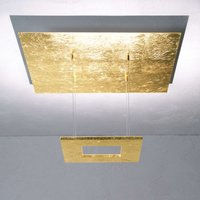 Escale Zen   gold leaf LED hanging light