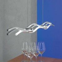 Escale Silk LED hanging light 120 cm
