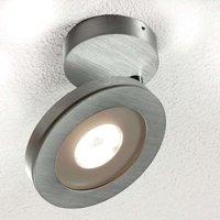 Adjustable 1 bulb LED ceiling lamp Vio  aluminium