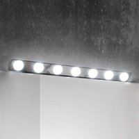 Hollywood LED mirror lamp  85 cm  7 bulb