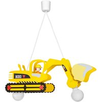 Bodo hanging light in the shape of a digger