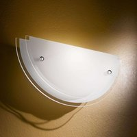 Hill Wall Light Smooth Glass Attractive