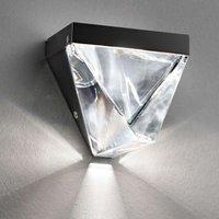 Sparkling Tripla LED wall light  anthracite