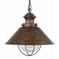 Antique looking Nautica Pendant Lamp  34 5 cm