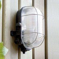 Simple CRIPTA Exterior Wall Lamp  Black