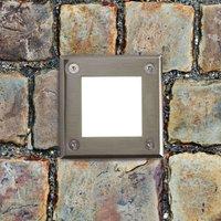LED 18 square LED recessed floor light