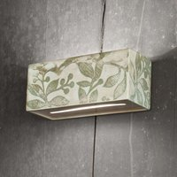 C1418 27 wall light with autumn design 25 cm
