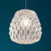 Glass designer pendant light Pinecone