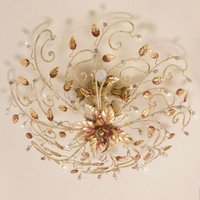 TURIN delicately shaped ceiling light