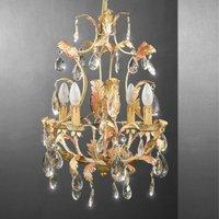 MESSINA striking chandelier lead crystal