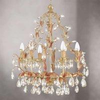 FOGGIA graceful chandelier glass