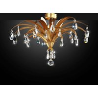Mayleen   noble ceiling light with crystals