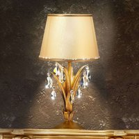 Mayleen sublime table light with crystals