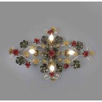 Ancona rose embellished ceiling light length 87 cm