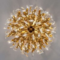 Guel magnificent crystal ceiling light