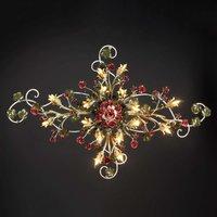 Sanno opulent Florentine ceiling light  16 bulb