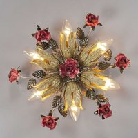 Fiama six bulb Florentine ceiling light