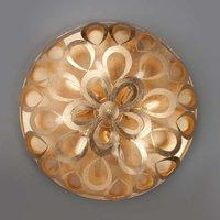 Rondo golden ceiling light