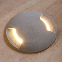 Traversable recessed floor light LED CECI 120 2 L