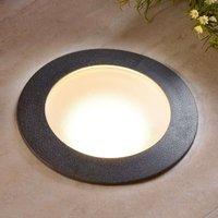 CECI 160 LED recessed floor light  round  ww