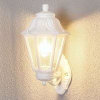 LED outdoor wall lamp Bisso Anna E27 white upwards