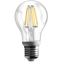 E27 6 W filament LED bulb with 800 lm  warm white
