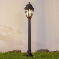Black LED path light Mizar Anna seawater resistant