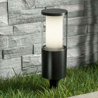 Ground spike light Carlo with LED in black