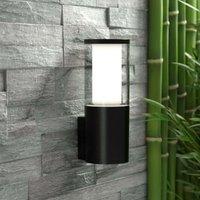 LED outdoor wall light Carlo  black