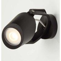 Outdoor wall spotlight Minitommy in black