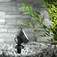 Tommy LED ground spike outdoor spotlight 10W black