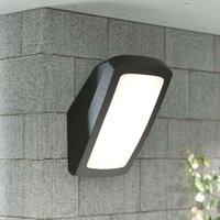 Bright LED outdoor wall light Germana 14 W  black